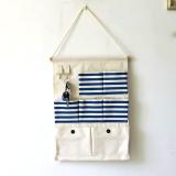 Price Comparisons Of Mimosifolia Over The Door Storage Bathroom Wall Door Organizer System Baby Closets Storage Hanging Pockets 7 Pockets Blue Stripes