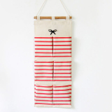 Price Mimosifolia Over The Door Storage Bathroom Wall Door Organizer System Baby Closets Storage Hanging Pockets Red Stripes 6 Pockets Mimosifolia Online