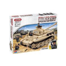 Review Oxford Block Minltary World War Series Building Block Set Panther Tank Om33014 Intl On South Korea