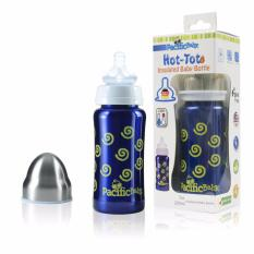Price Comparisons Pacific Baby Hot Tot Insulated Baby Bottle 7Oz Swirls