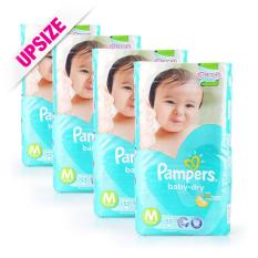 Buy Pampers Baby Dry Diapers M 6 11Kg 52Pcs X 4 Packs Singapore