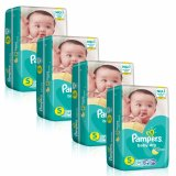 Sale Pampers Baby Dry Diapers S 58S 3 8Kg X 4 Packs Pampers