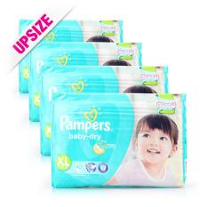 The Cheapest Pampers Baby Dry Diapers Xl 10 17Kg 40Pcs X 4 Packs Online