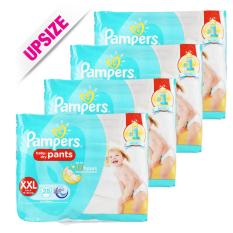 Pampers Baby Dry Pants Xxl 28 X 4 Packs For Sale