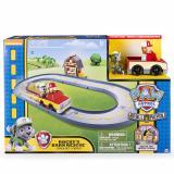 Top Rated Paw Patrol Rocky S Barn Rescue Track Set