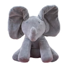Review Peek A Boo Elephant Stuffed Animals Plush Elephant Doll Play Music Elephant Educational Toy For Children Baby Gift Intl Oem On China