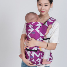 Price Penny Lightweight Multi Position Baby Carrier Backpack Detachable Hip Seat With Hood Purple Intl Oem New