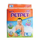 Promo Petpet Halo Mega Pack Baby Diapers L64 S X 3 Packs