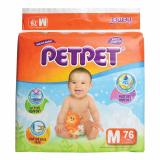Petpet Halo Mega Pack Baby Diapers M76 S X 3 Packs Review