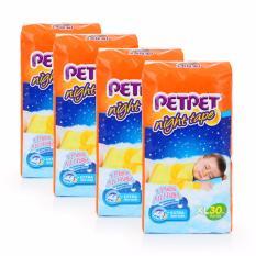 Sale Petpet Night Tape Over 13Kg Xl 30Pcs X 4Packs Orange Xl Xl Online Singapore