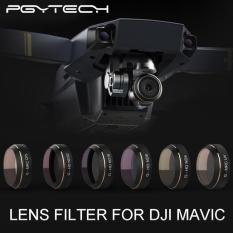 Get Cheap Pgytech Dji Mavic Pro 5 In 1 Uv Nd Cpl Filter Lens For Betterphoto Quality Contrast Intl