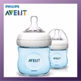 Best Philips Avent 125Ml Pp Natural Bottle Twin Pack Blue