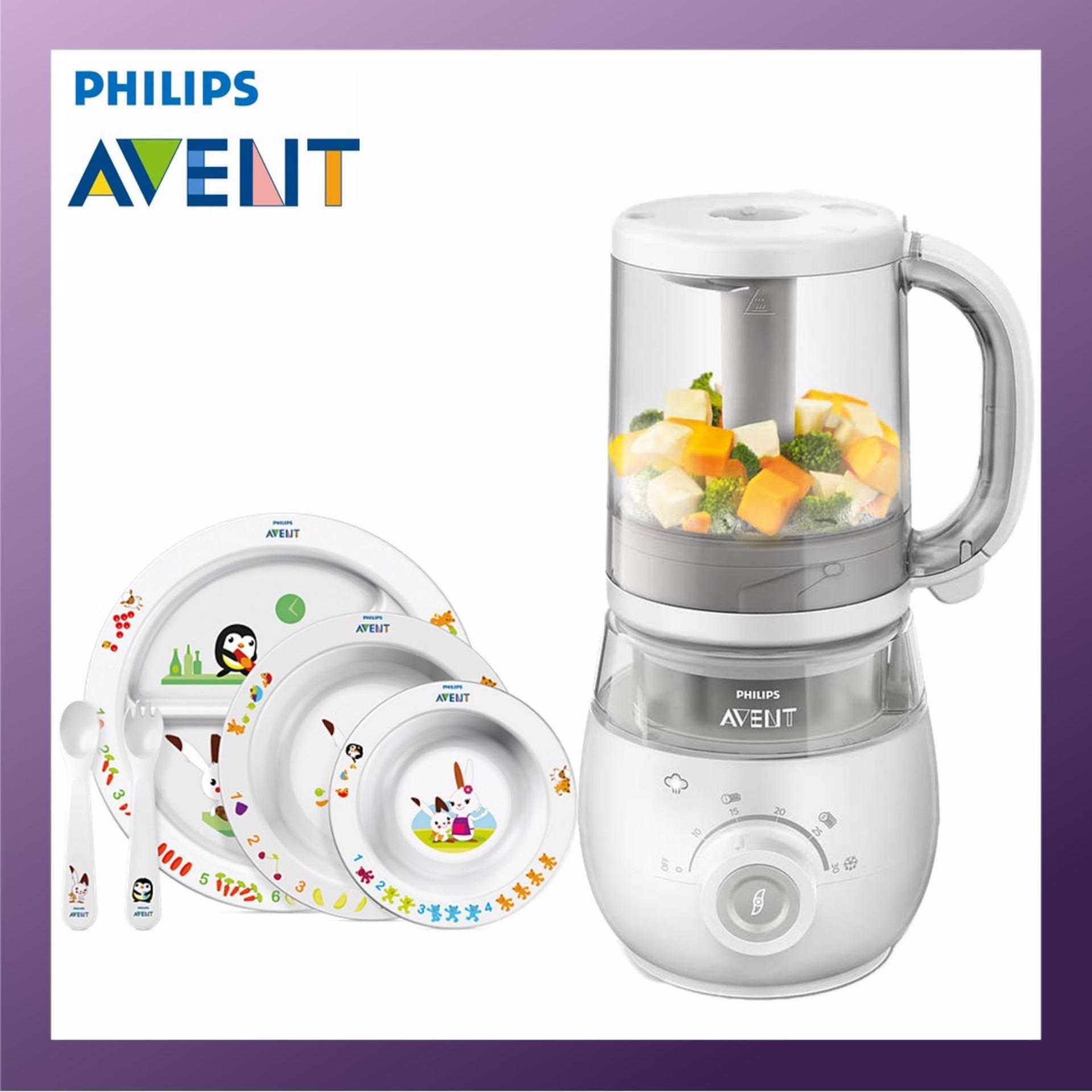 Price Comparison For Philips Avent 4 In 1 Healthy Baby Food Maker Basic Bundle