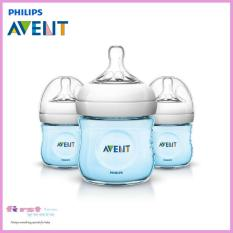 Discount Philips Avent Natural Feeding Bottle Blue 4Oz 125Ml 3 Pack Philips Avent Singapore