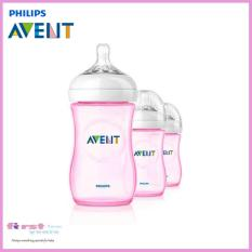 How To Get Philips Avent Natural Feeding Bottle Pink 9Oz 260Ml 3 Pack