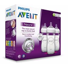 Price Philips Avent Natural Glass Baby Bottle Bpa Free 8 Ounce 240 Ml Pack Of 3 Philips Avent Original
