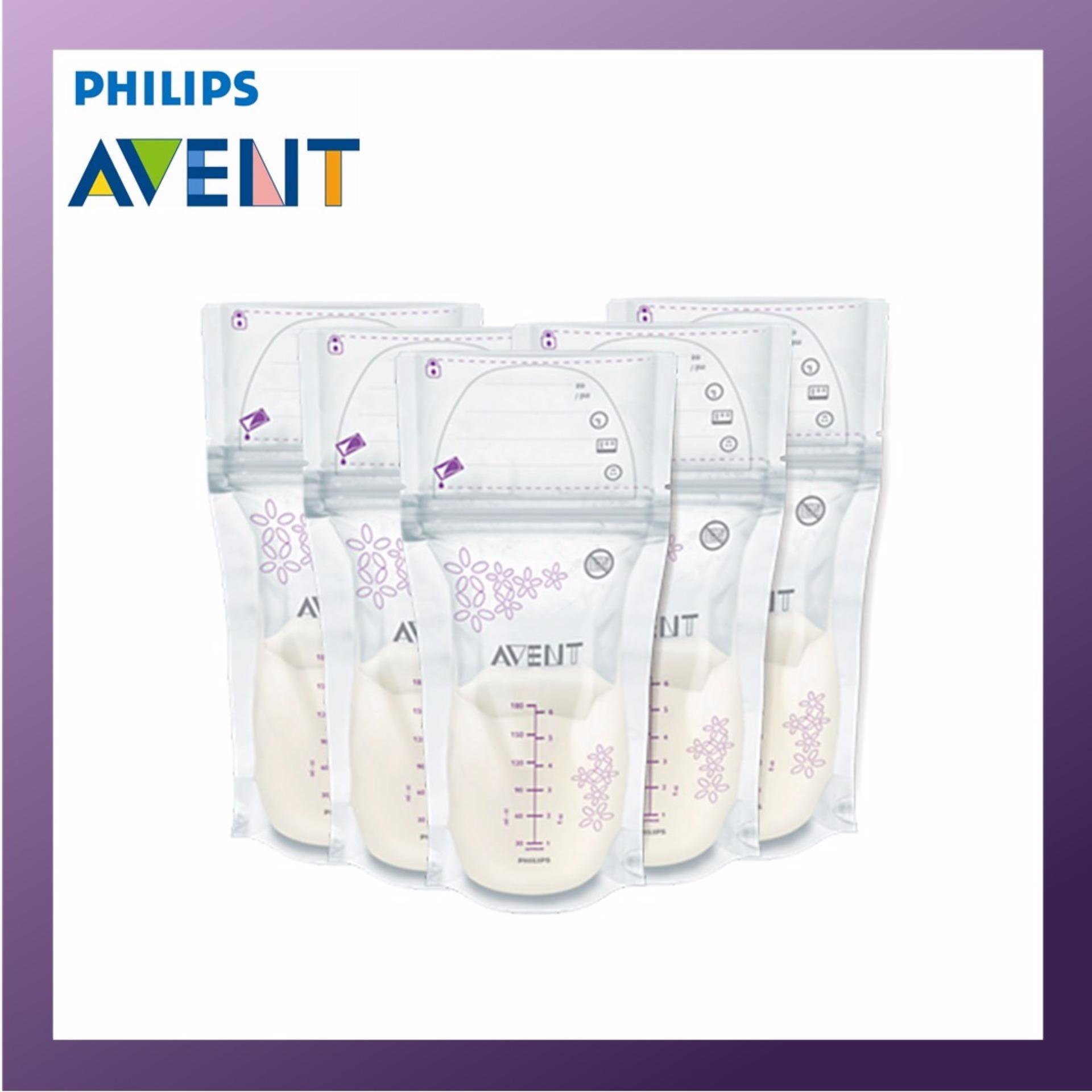 Who Sells Philips Avent Breast Milk Storage Bag 5 Packs 25Pcs X 180Ml Pack