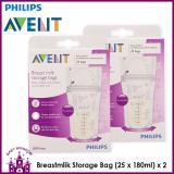 Where Can You Buy Philips Avent Breastmlik Storage Bag 25 X 180Ml X 2