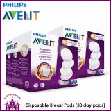 Philips Avent Disposable Breast Pads 30 Day Pads X 2 Boxes Lower Price