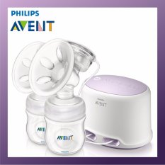 Lowest Price Philips Avent Double Electric Breast Pump Bundle