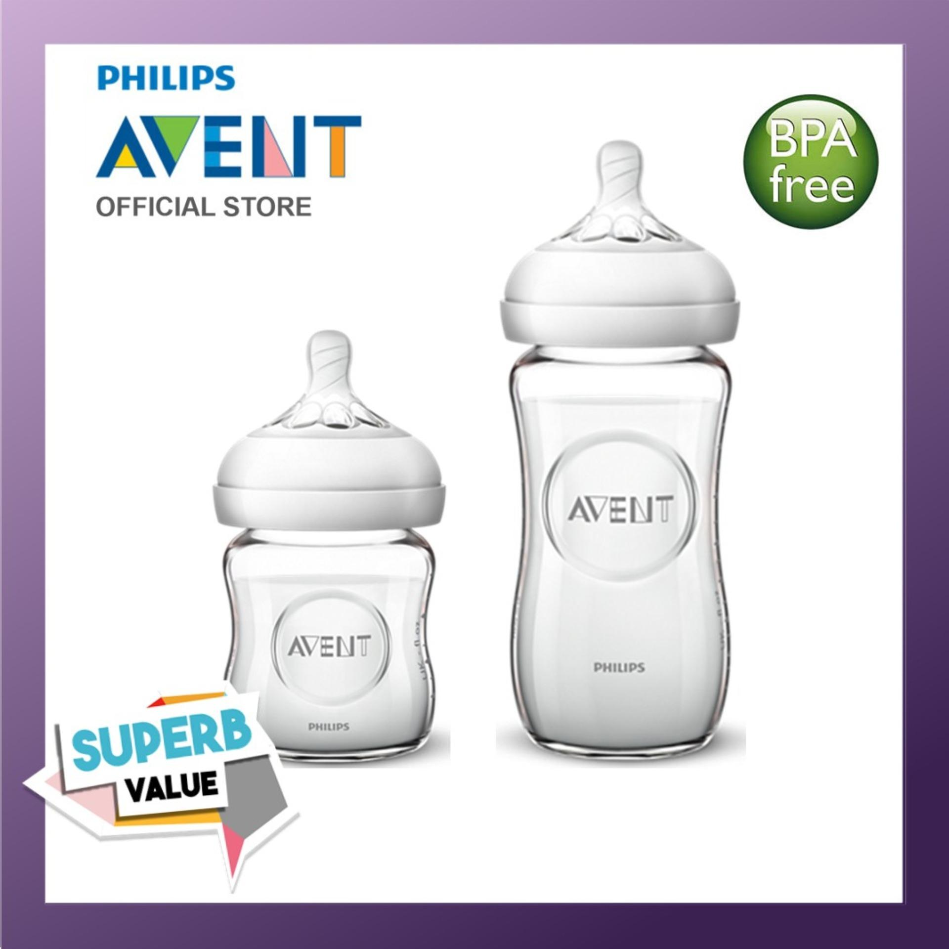 Discounted Philips Avent Glass Bottlle Bundle