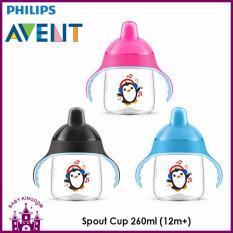 Sale Philips Avent Spout Cup 12M Blue On Singapore