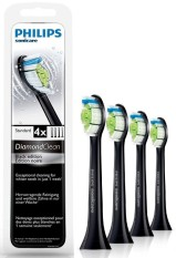 Best Deal Philips Diamond Clean Black Replacement Heads 4 Pack