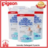 Pigeon Baby Laundry Detergent Refill 3 Packs Shopping