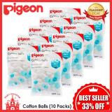 Cheapest Pigeon Cotton Balls 10 Packs