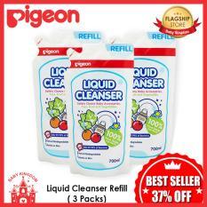 Pigeon Liquid Cleanser Refill x 3 Packs BUNDLE DEAL!!