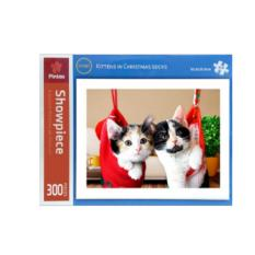 Sales Price Pintoo Jigsaw Puzzle Kittens In Christmas Socks 300Pcs