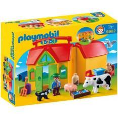 Playmobil 6962 1.2.3 My Take Along Farm