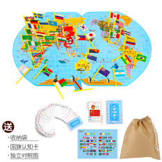 Review Plug Flag Matching Children S Toys World Map Siyoo On China