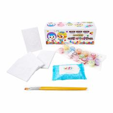 Review Pororo The Little Penguin Diy Candypop Canvas Painting Set Pororo