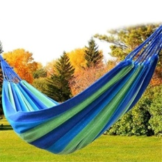 Portable 120 Kg Load-Bearing Outdoor Garden Hammock Hang Bed Travel Camping Swing Survival Outdoor Sleeping - Intl By Lions Club.