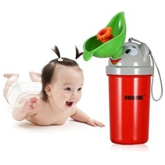 Portable Baby Childpottyurinal Emergency Toilet For Camping Car Travel And Kid Potty Pee Training Boy Girl - Intl By Evertoner.
