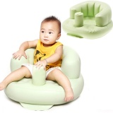 Buy Portable Baby Toddlers Girls Boys Inflatable Sofas Training Bath Safety Seat Sit Me Up Chair Light Green Intl Oem Cheap