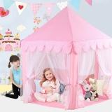 Cheaper Portable Children Kids Play Tents Outdoor Garden Folding Toy Tent Pop Up Kids G*rl Princess Castle Outdoor Playhouse Kids Tent Intl