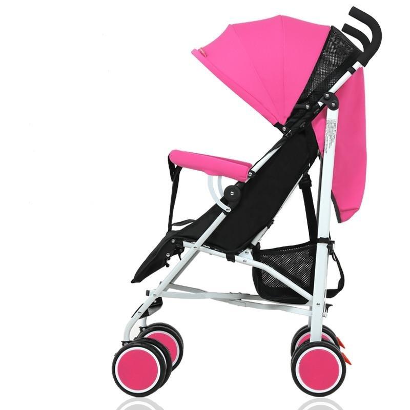 Portable Folding Folding Shock Proof Trolley for Baby Stroller 5.5KG - intl Singapore