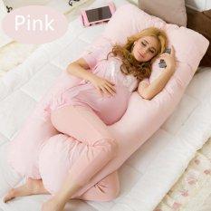 Premium Cashmere U Shape Pregnancy And Nursing Pillow Pink Intl Lower Price