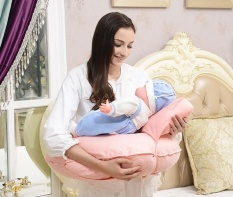 Sales Price Premium Multipurpose C Shape Breast Feeding Nursing Extra Firm Pillow Intl