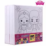 Buy Prince And Princess Kids Canvas Painting Art And Crafts 6 Sets Online