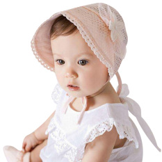 Princess Girls Baby Hat Beanie New Lace Floral Caps(pink) By Sportschannel.