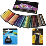 Who Sells Prismacolor Colored Pencils Box Of 150 Assorted Colors Triangular Scholar Pencil Eraser And Premier Sharpener 1800059 Ve99016 1774265 Intl Cheap