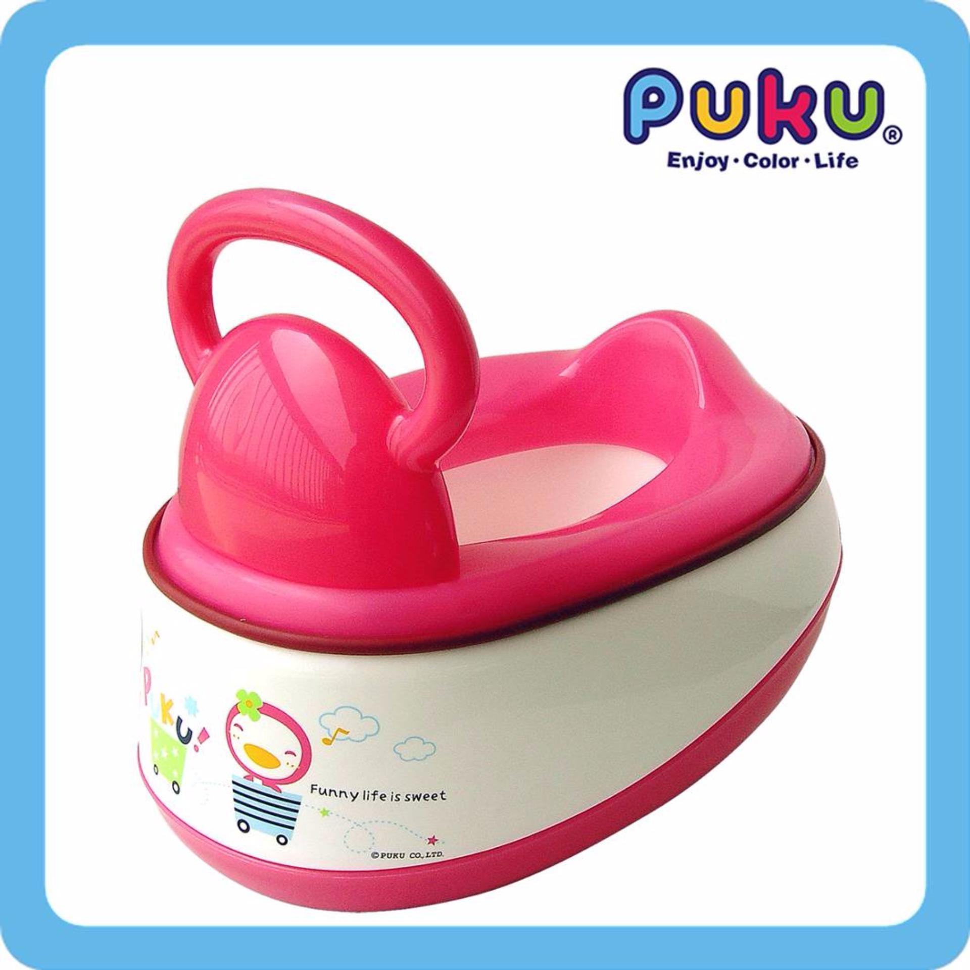 Retail Price Puku 5 In 1 Baby Potty Pink