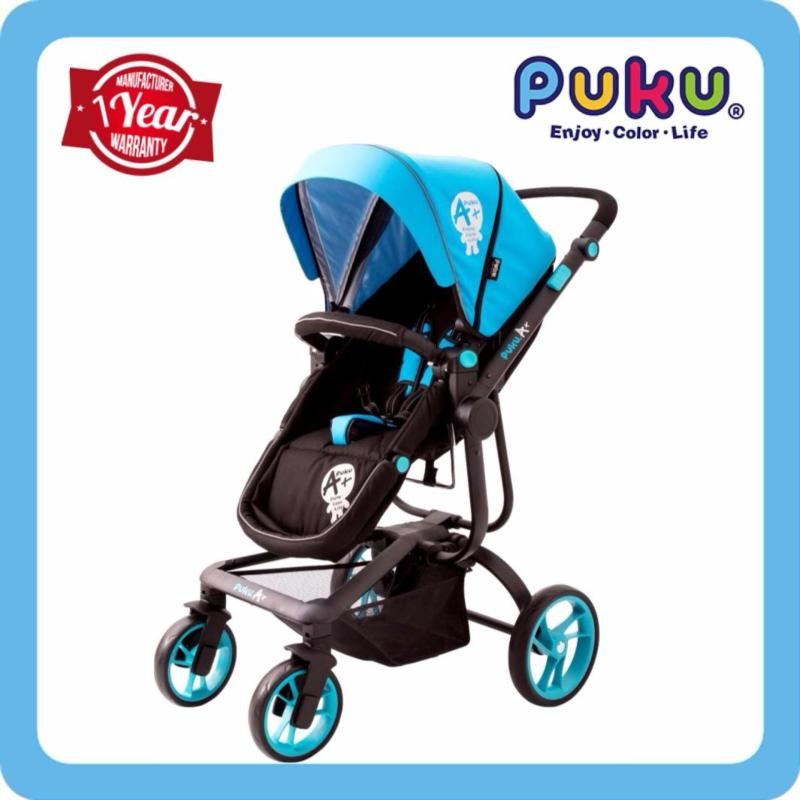 PUKU A+ Baby Stroller Blue Singapore