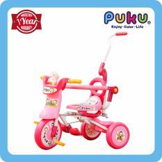 Price Puku Foldable Tricycle Pink Puku New