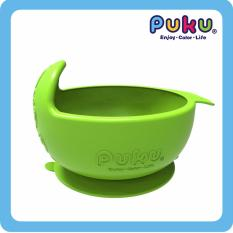 Top Rated Puku Silicone Suction Bowl Green