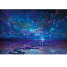 Mimosifolia Puzzle Toys Children *D*Lt Decompression Games 1000 Piece Jigsaw Home Decoration Beautiful Star Ocean Intl Price Comparison