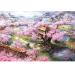 Cheapest Mimosifolia Puzzle Toys Children *D*Lt Decompression Games 1000 Piece Jigsaw Home Decoration Cartoon Animation Scenery Sakura Villa Intl Online
